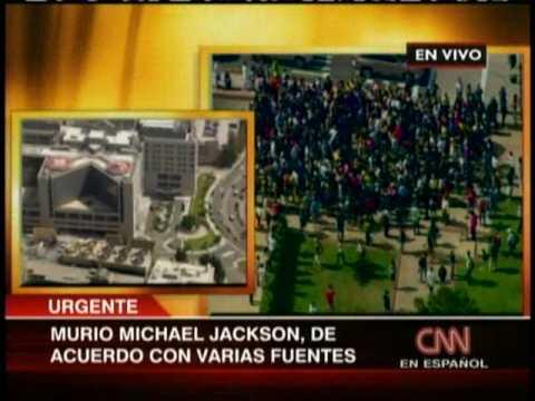 Michael Jackson el rey del pop ha muerto