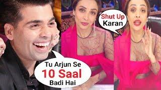 Video Karan Johar Makes Fun of Malaika Arora Khan Age Gap With Arjun Kapoor At India's Got Talent MP3, 3GP, MP4, WEBM, AVI, FLV Januari 2019
