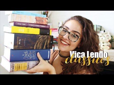 8 LIVROS CLÁSSICOS PARA 2018 // Projeto #VicaLendoClássicos
