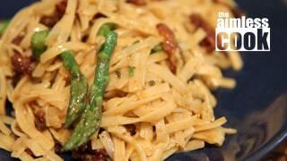 Curry Carbonara Recipe Experiment - Test Kitchen Vlog