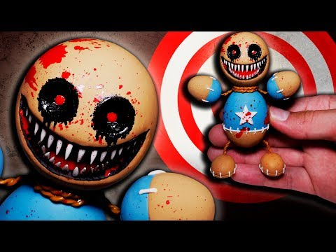 Are you brave enough to watch? ★ Kick the Buddy.exe ➤ Polymer clay Tutorial