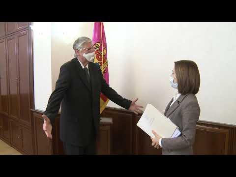 Președintele Republicii Moldova, Maia Sandu, s-a întâlnit astăzi cu ES Sándor Szabó, Ambasadorul Ungariei