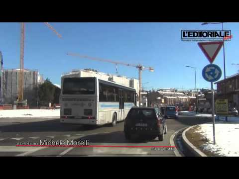 Protesta Michele Morelli parcheggio Viale Corrado IV