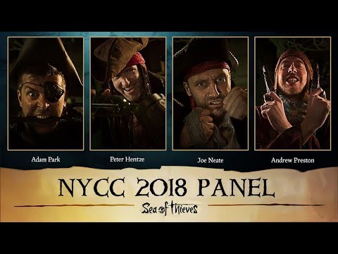 Official Sea Of Thieves New York Comic Con 2018 Panel