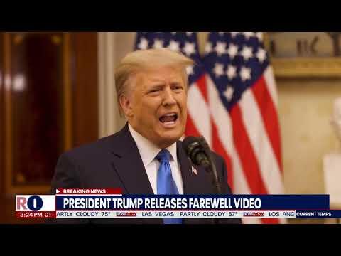 Watch President Trump's farewell speech from White House