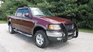4. 2003 Ford F 150 XLT SuperCrew FX4 4X4 Styleside|P10494A