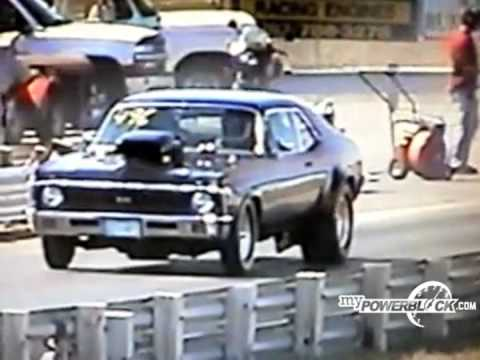 myPowerBlock: Chevy Nova wheelstand