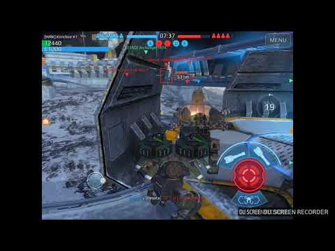 War Robots - Kimmy Lee with Facebook [BFF] and Force Zero [ZERO] clan in battle. (видео)