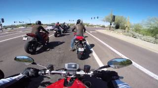 8. 2015 Ducati MONSTER 1200S Ride & Review