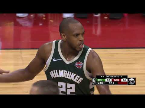 Khris Middleton FORCES Overtime - Game 3 | Bucks Vs Raptors | 2019 NBA Playoffs