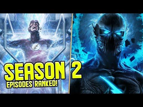 The Flash: Season 2 Episodes RANKED!
