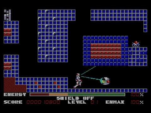 [PC-88] Thexder (1985) (Game Arts)