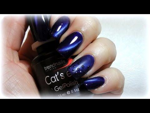 Cat Eye Nail Design