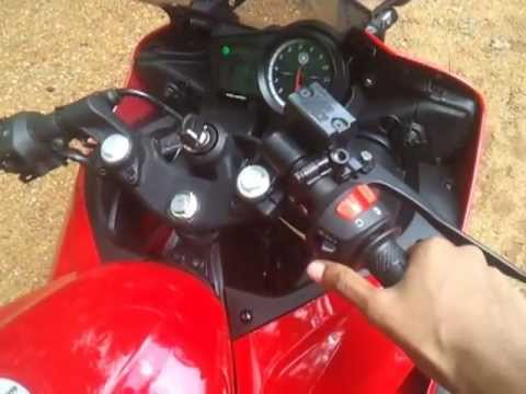 Yamaha R15 2.0 with k&n air filter (sound)...sounds awsm..