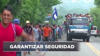 Urge seguridad para Caravana