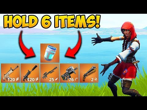 *NEW TRICK* HOLD 6 ITEMS AT ONCE! - Fortnite Funny Fails and WTF Moments! #385