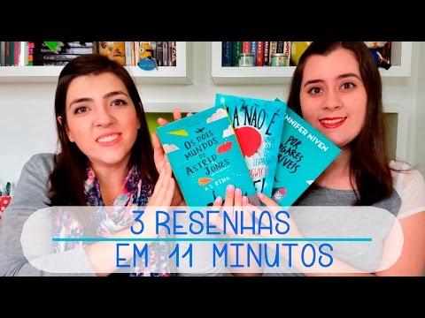 3 resenhas em 11 minutos | Book Review
