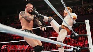 Sheamus vs. Randy Orton: Raw, Aug. 11, 2014