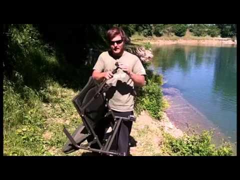 Presentazione della sedia Indulgence Sub-Lo di Nash - Carp Fishing -SportIT.com