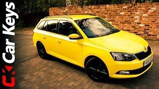8. Skoda Fabia Estate 2015 review - Car Keys