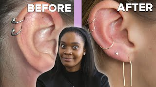 Video We Got Custom Ear Piercings MP3, 3GP, MP4, WEBM, AVI, FLV Maret 2019