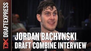 Jordan Bachynski Draft Combine Interview