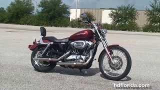 4. Used 2010 Harley Davidson Sportster 1200 Custom Motorcycles for sale - Sarasota, FL