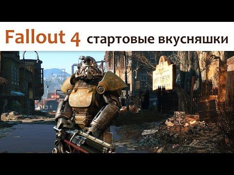 Fallout 4 (стартовые вкусняшки)