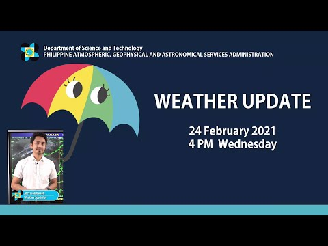 Public Weather Forecast Issued at 4:00 PM February 24, 2021