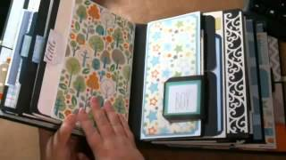 Kathy Orta's My Design Mini made in Baby boy version for my nephew Derek's son Tucker. - Captured Live on Ustream at http://www.ustream.tv/channel/bups-67 ...