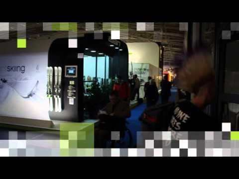 Elan booth brings RFID technology at ISPO 2012