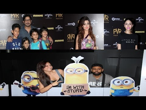 Arshad Warsi, Eli Avram & Others Bolly Celebs At Screening Of Hollywood Film Minions