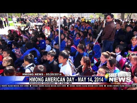 Suab Hmong News:  Hmong-American Day May 14, 2014 in St. Paul, MN
