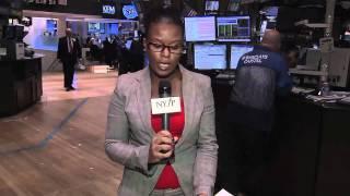 O mercado opera em alta em Nova York