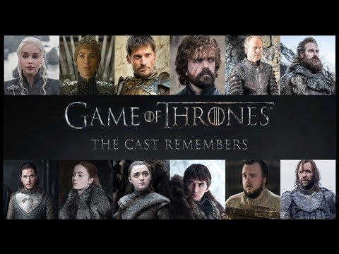 GAME OF THRONES - Season 8 : Cast Remembers - ( HBO )  *ALL 12  Interviews*  ( HD 1080 )