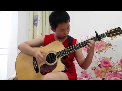 Video - Λιλιπούτειος αυτοδίδακτος κιθαρίστας παίζει... σαν βιρτουόζος