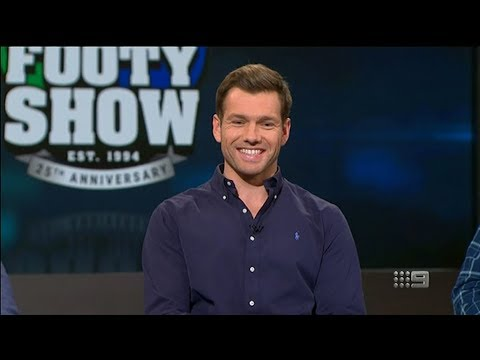 Shaun Higgins On The Footy Show - Channel 9 (July 11, 2018)