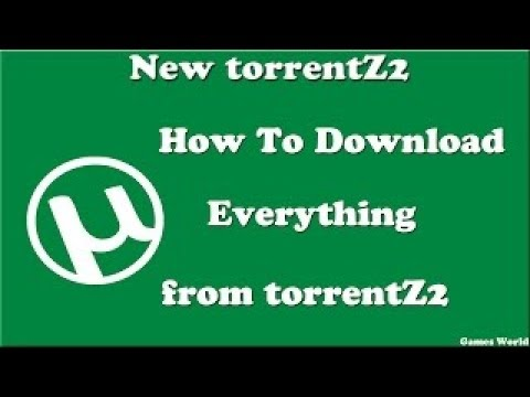 HOW TO DOWNLODE FROM TORRENTZ.EU