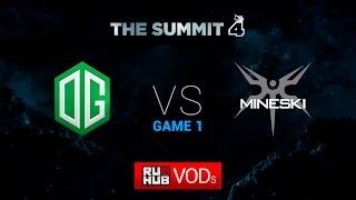 OG vs Mineski, game 1
