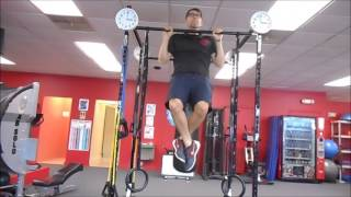 Traditional Pull Up Exercise