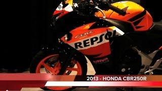 6. 2013 HONDA CBR250 R - REPSOL Edition
