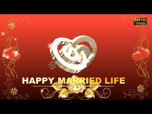 Happy Wedding Wishes Sms Greetings Images Wallpaper Whatsapp Video Super Animation