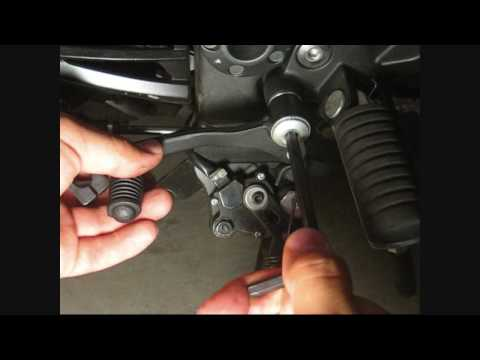 How to replace your shifter lever & tie-rod assembly on a 2008 Kawasaki Ninja 250R