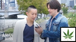 Video What Do The Japanese Think Of Weed? | ASIAN BOSS MP3, 3GP, MP4, WEBM, AVI, FLV Februari 2019