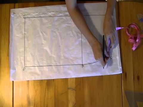 Tutorial: Come fare una gonna dritta partendo dal cartamodello - parte 1