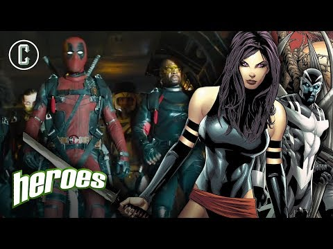 X-Force Characters Revealed? - Heroes