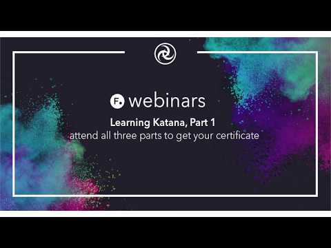 Webinar | Learning Katana (Part 1)