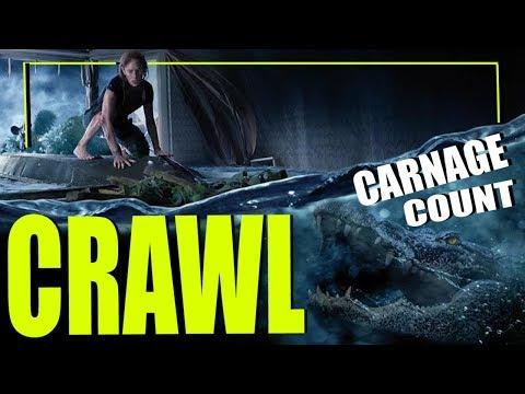 Crawl (2019) Carnage Count