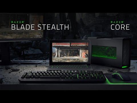 The Razer Blade Stealth & Razer Core – Meet the Ultimate Ultrabook – HD Trailer
