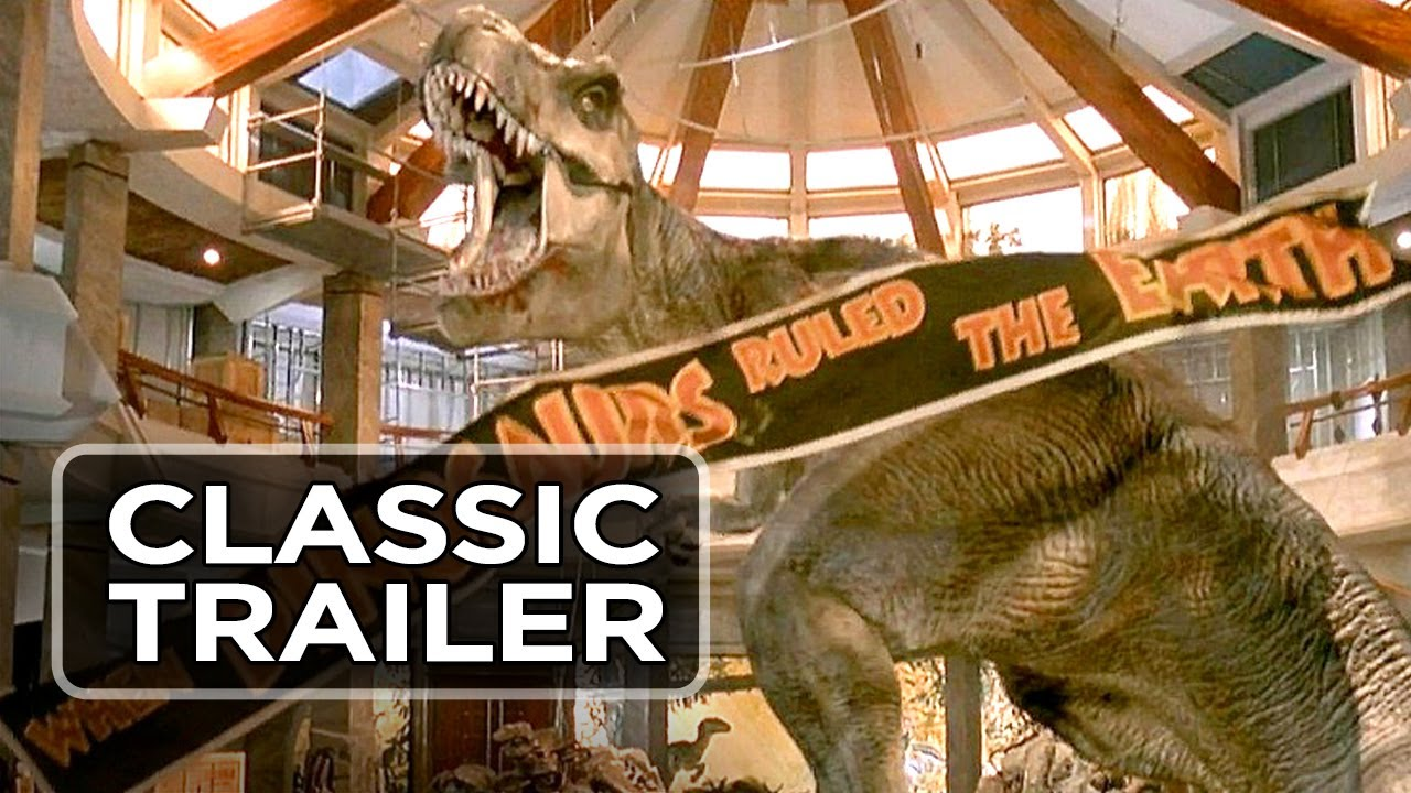 Jurassic Park Official Trailer #1 - Steven Spielberg Movie (1993) HD